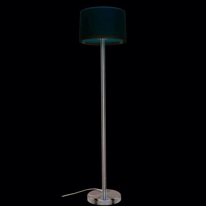 Lámpara-de-pie-para-exterior-VIRGIN-acero/blanco