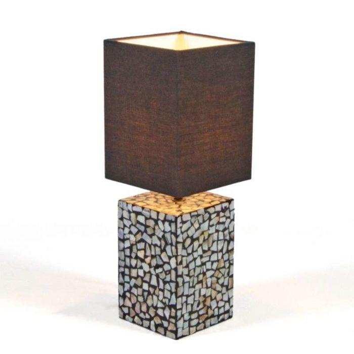 Lámpara-de-mesa-PEARL-negra