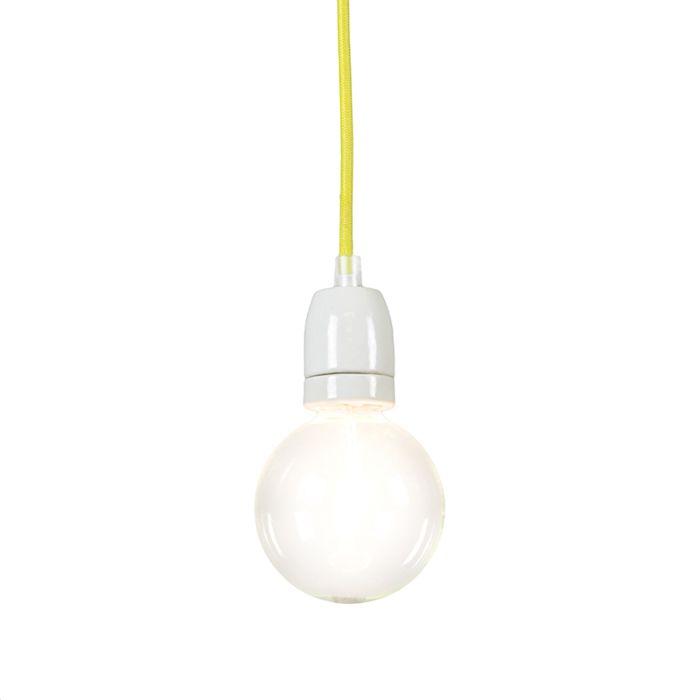 Lámpara-colgante-CAVO-amarillo