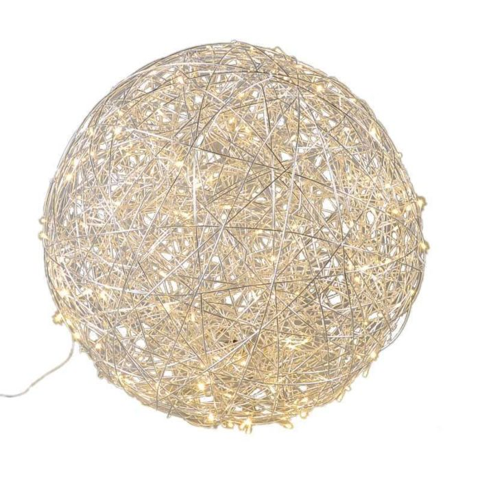 Lámpara-DRAHT-bola-80cm-LED-aluminio