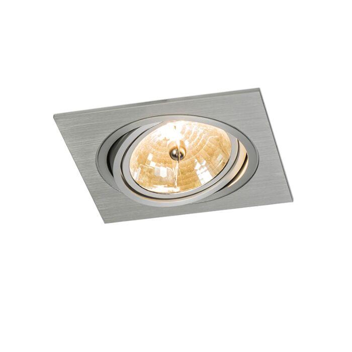 Foco-empotrado-IMPACT-cuadrado-aluminio