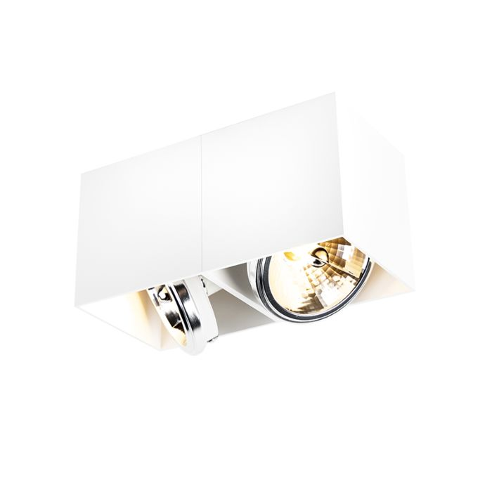 Foco-diseño-cuadrado-negro-2-luces---BOX