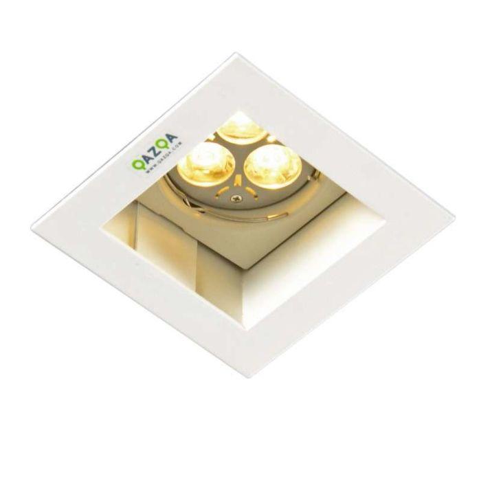 Foco-empotrado-DIEGO-II-cuadrado-blanco