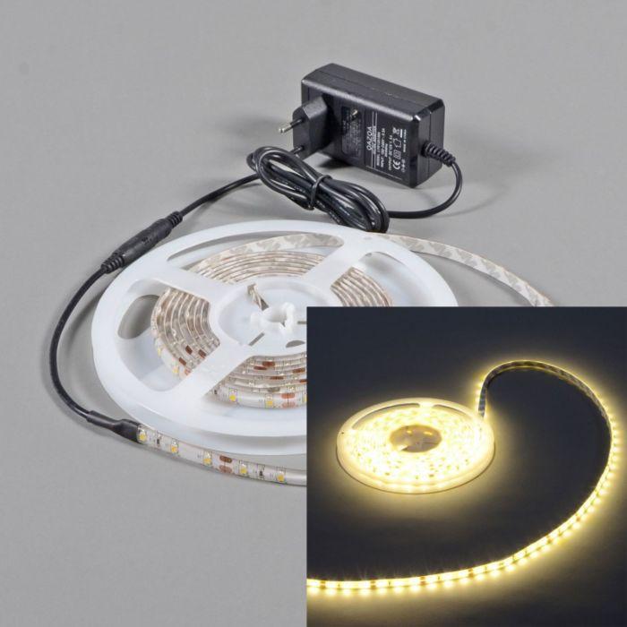 Tira-LED-flexible-blanco-cálido-IP65-5metros