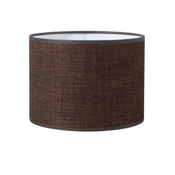 Pantalla-cilíndrica-para-lámpara-colgante/-de-mesa/-de-pie-20/20/15-marrón