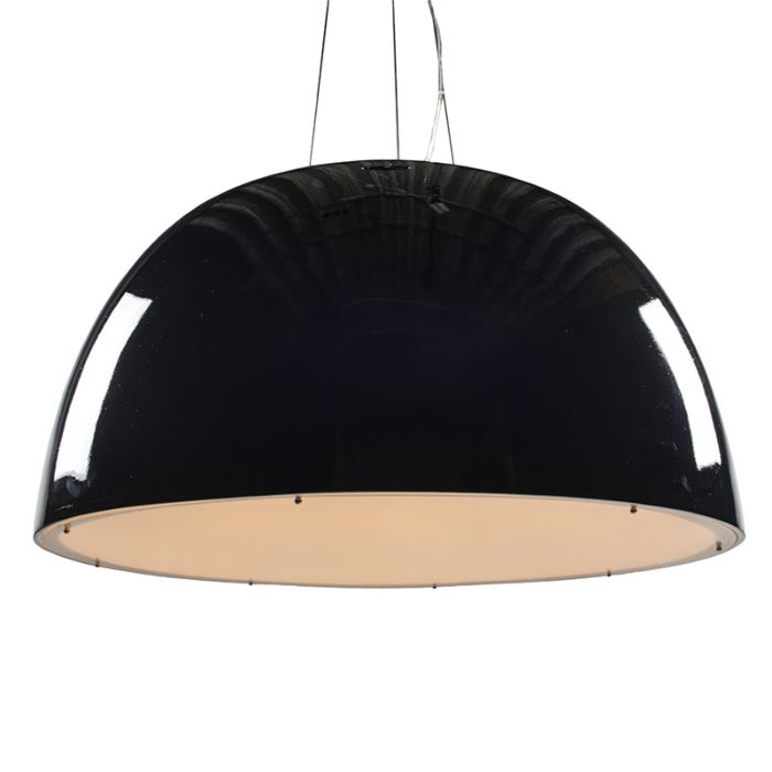 Lámpara-colgante-GLOSSY-100cm-negra