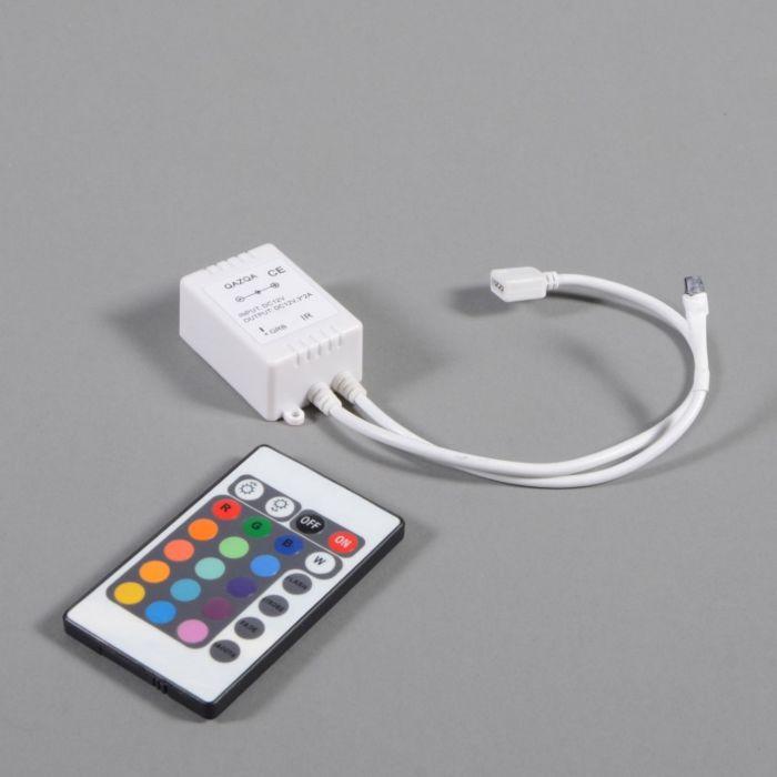 Controlador-RGB-con-mando-a-distancia