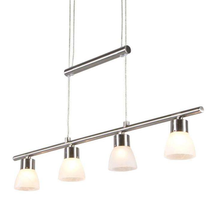 Lámpara-colgante-CUATRO-4-acero