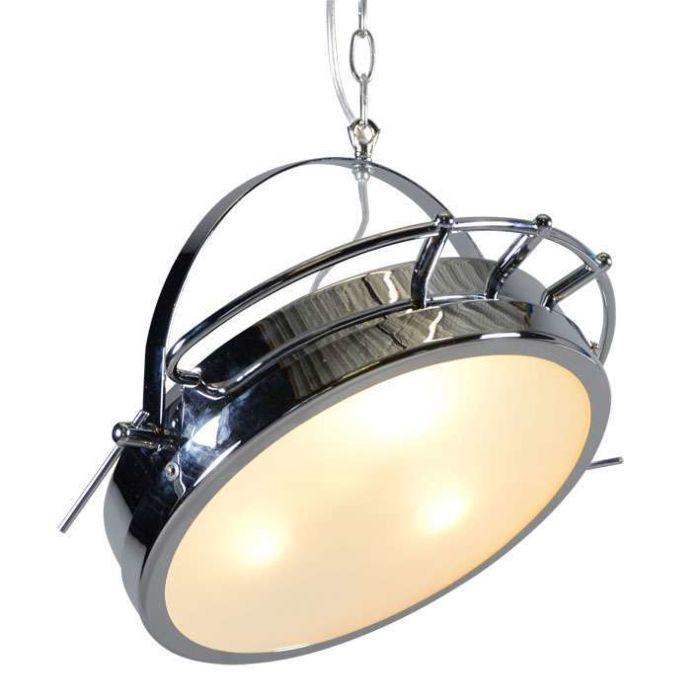 Lámpara-colgante-OSPEDALE-cromo