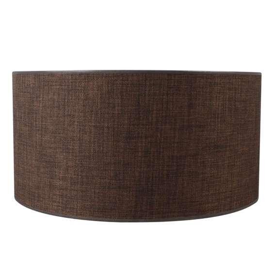 Pantalla-cilíndrica-para-lámpara-colgante/-de-mesa/-de-pie-50/50/25-marrón