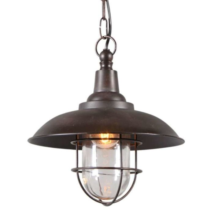 Lámpara-colgante-TITANIC-28cm-bronce