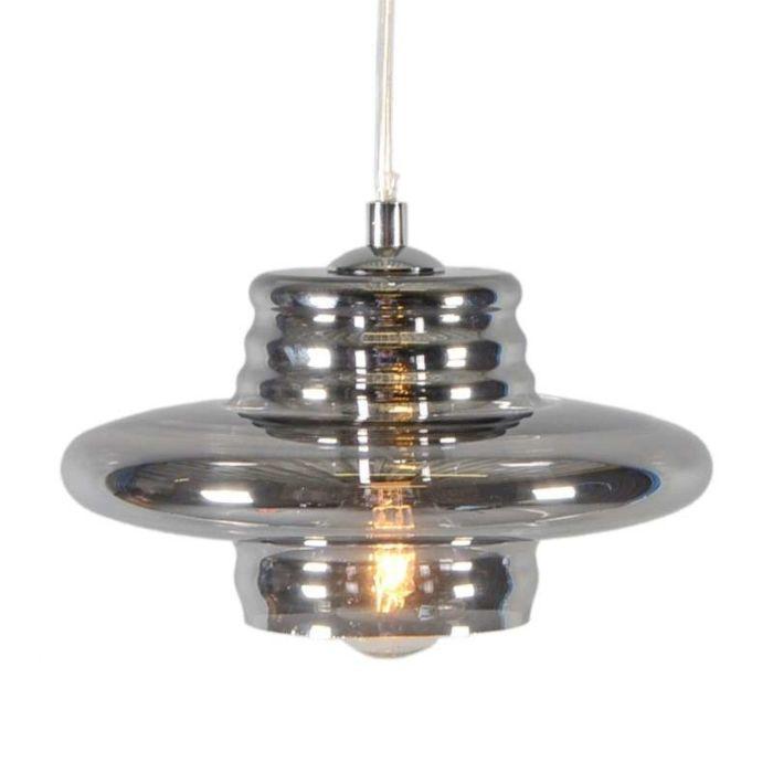 Lámpara-colgante-TREVISO-I-cristal-ahumado