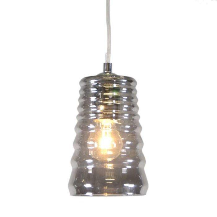 Lámpara-colgante-TREVISO-III-cristal-ahumado