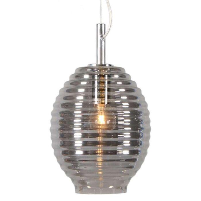 Lámpara-colgante-TREVISO-IV-cristal-ahumado
