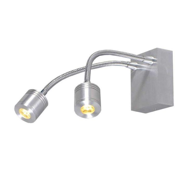 Aplique-de-pared-YET-2-aluminio
