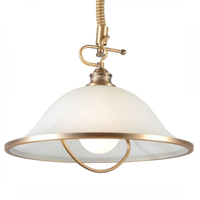 Lámpara-colgante-ELEGANCE-I-bronce