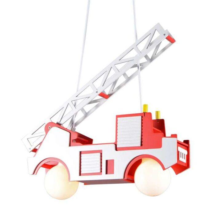 Lámpara-colgante-KIDS-coche-de-bomberos