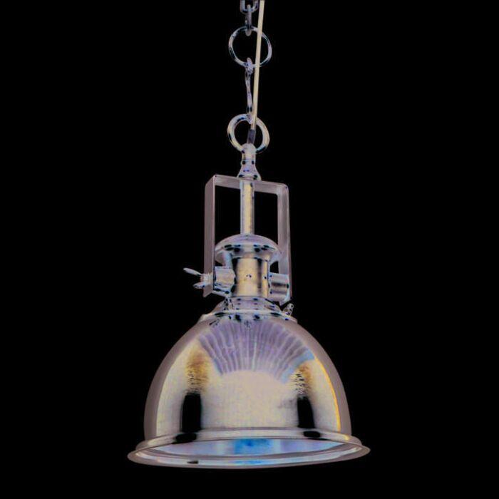 Lámpara-colgante-ZINE-M-cromo