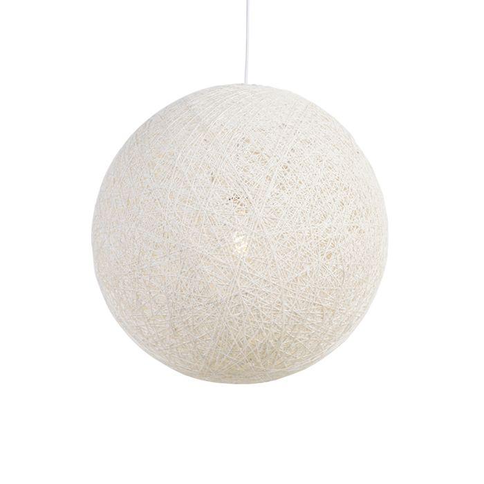Lámpara-colgante-Corda-60-blanca