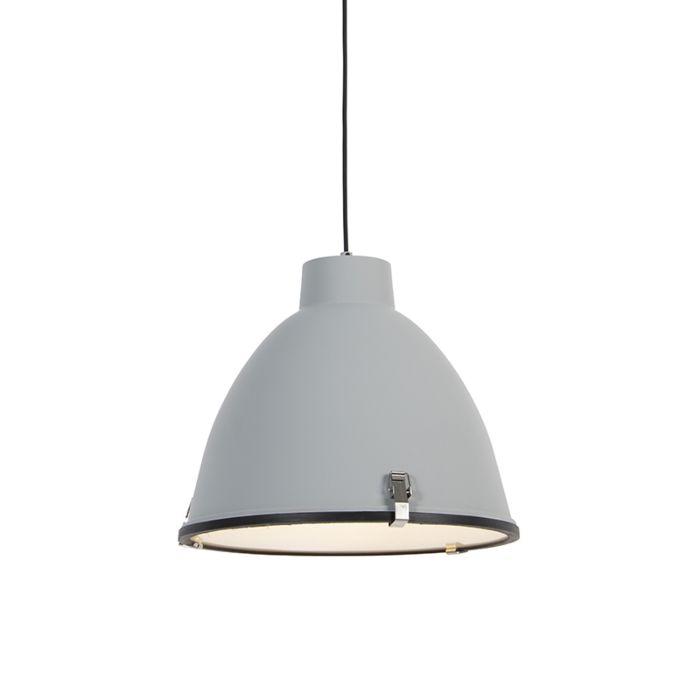 -Lámpara-colgante-industrial-gris-38cm---ANTEROS