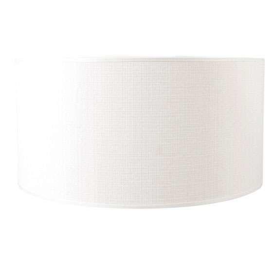 Pantalla-cilíndrica-para-lámpara-colgante/-de-mesa/-de-pie-50/50/25-blanco