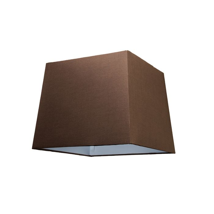 Pantalla-para-lámpara-colgante-30cm-piramidal-SU-E27-marrón