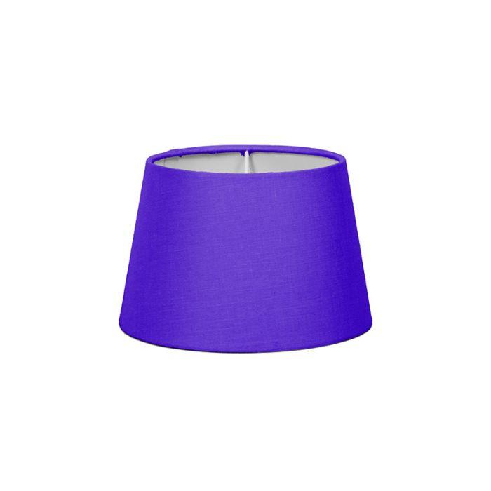 Pantalla-para-lámpara-mesa/aplique-18cm-cónica-SD-E27-lila