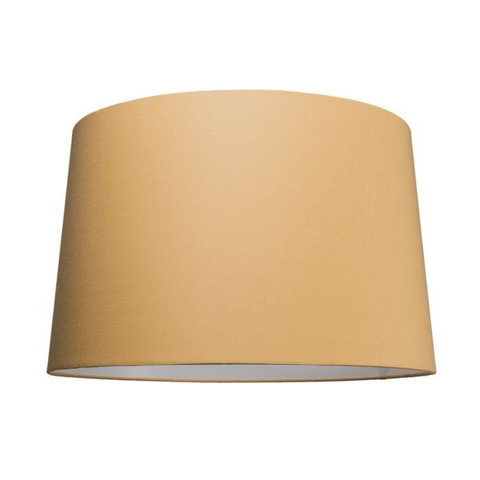 Pantalla-para-lámpara-colgante-50cm-cónica-SU-E27-beige
