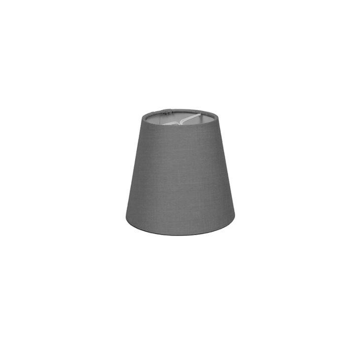 Pantalla-de-gancho-12cm-cónica-SC-gris