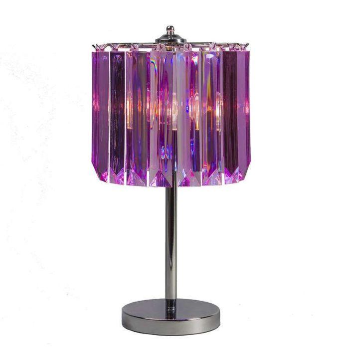 Lámpara-de-mesa-SHINE-violeta