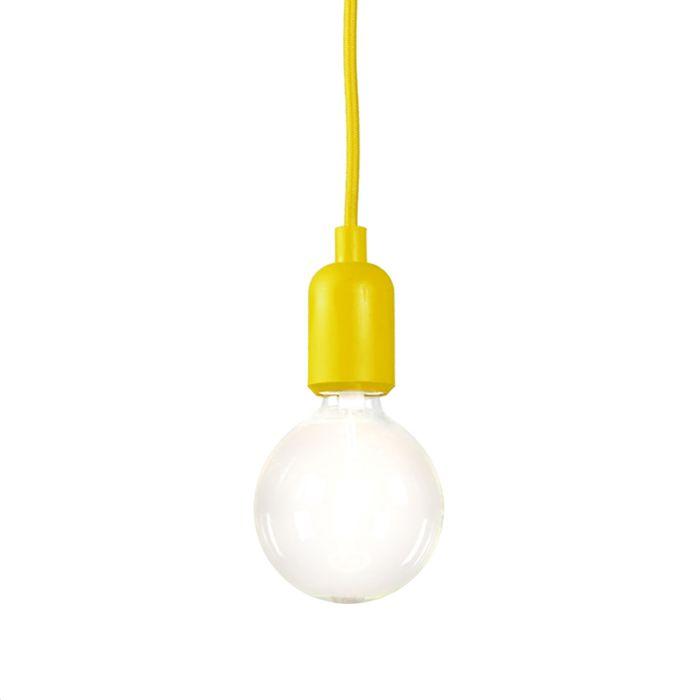 Lámpara-colgante-CAVA-amarillo