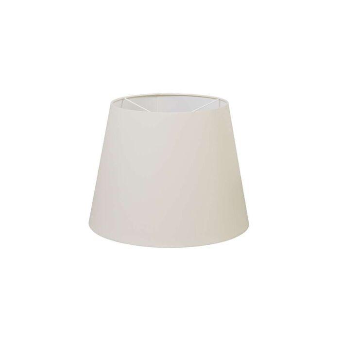Pantalla-de-poliéster-crema-blanco-35-/-27.5