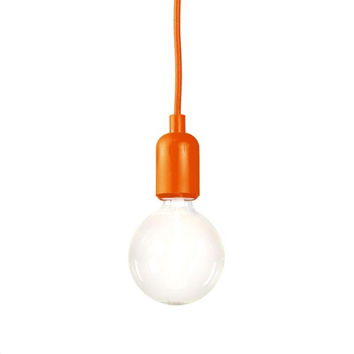 Lámpara-colgante-CAVA-naranja
