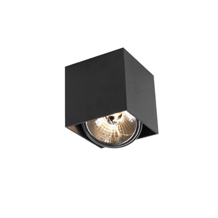Foco-diseño-cuadrado-1-negro-BOX-