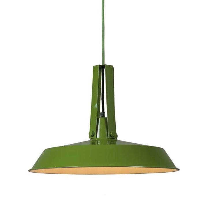Lámpara-colgante-LIVING-40cm-verde