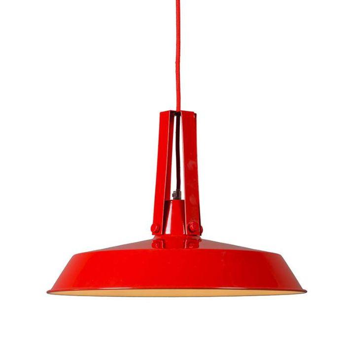 Lámpara-colgante-LIVING-40cm-rojo