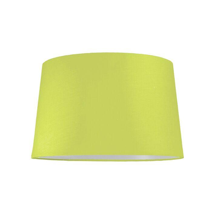 Pantalla-para-lámpara-colgante-40cm-cónica-SU-E27-verde
