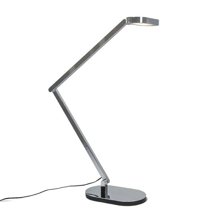 Lámpara-de-mesa-LETTERA-cromo