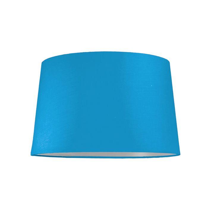 Pantalla-para-lámpara-colgante-40cm-cónica-SU-E27-azul-claro