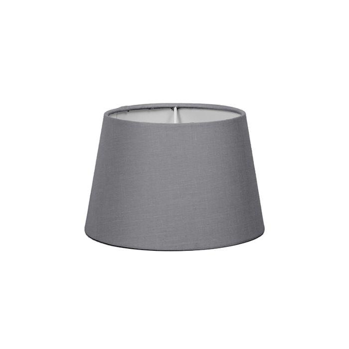 Pantalla-para-lámpara-mesa/aplique-18cm-cónica-SD-E27-gris
