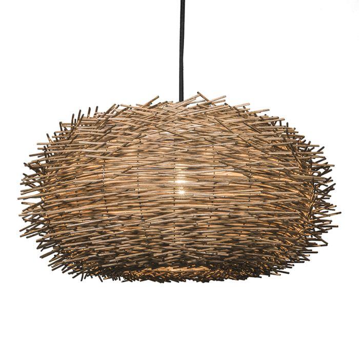 Lámpara-colgante-HATCH-55-marrón