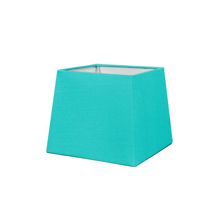 Pantalla-para-lámpara-mesa/aplique-18cm-piramidal-SD-E27-turquesa