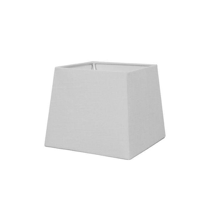 Pantalla-para-lámpara-mesa/aplique-18cm-piramidal-SD-E27-blanca