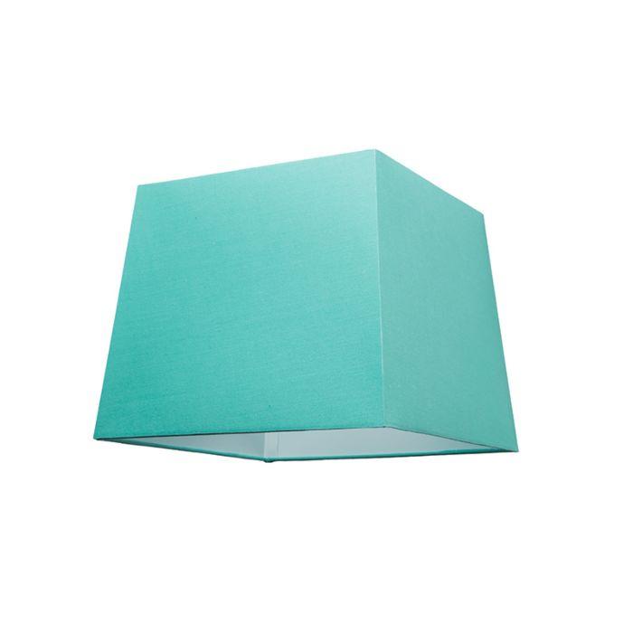 turquesa E27 colgante lámpara SU piramidal Pantalla para 30cm nkP08wO