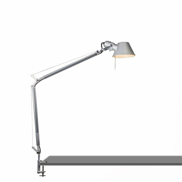 Lámpara-de-mesa-ajustable---ARTEMIDE-Tolomeo-tavolo-clamp