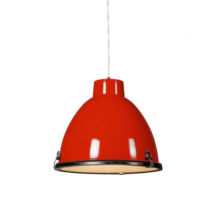 Lámpara-colgante-ANTEROS-38-roja