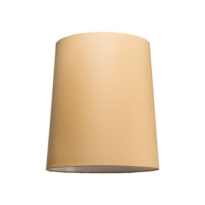 Pantalla-para-lámpara-colgante-35cm-cónica-SU-E27-beige