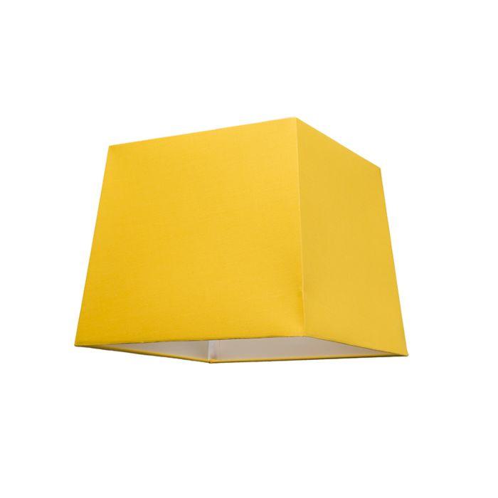 Pantalla-para-lámpara-colgante-30cm-piramidal-SU-E27-amarilla