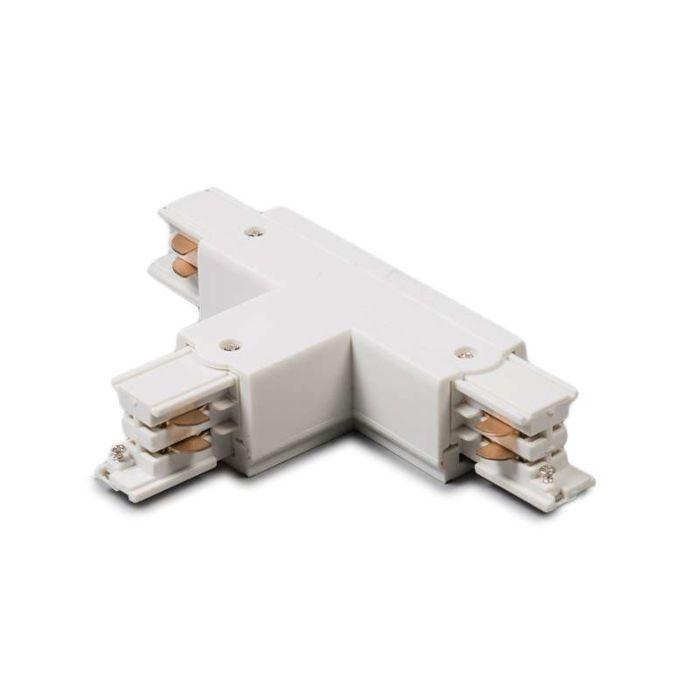 Conector-T-trifásico-carril-derecho-blanco