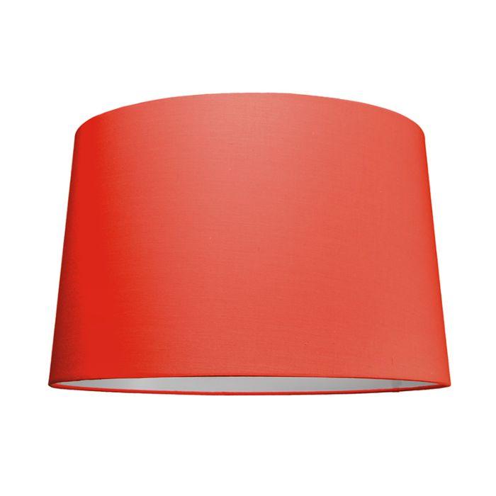 Pantalla-para-lámpara-colgante-50cm-cónica-SU-E27-rojo
